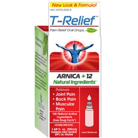 MediNatura T Relief Pain Oral Drops 50 ml 16005000 - Halloween T Pain