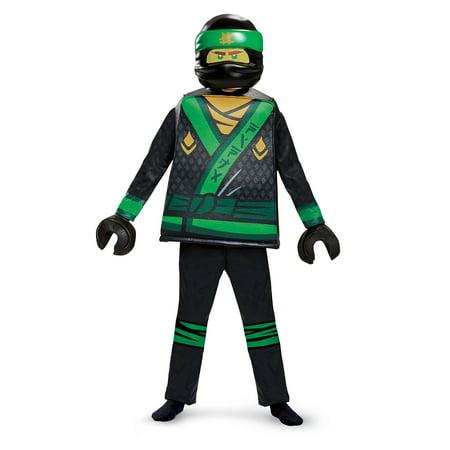Boys' Lego Ninjago Movie Lloyd Deluxe Costume - Ninjago Halloween Costume Lloyd