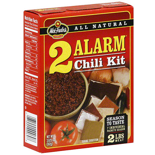 Wick Fowler's 2 Alarm Chili Kit, 3.625 oz (Pack of 12)