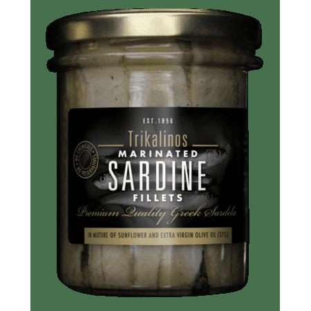 Trikalinos Marinated Sardine Boneless Skinned Premium Fillets - 7 oz 7 Oz Fillets