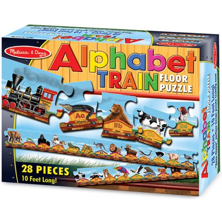 Floor Puzzle - Alphabet Train