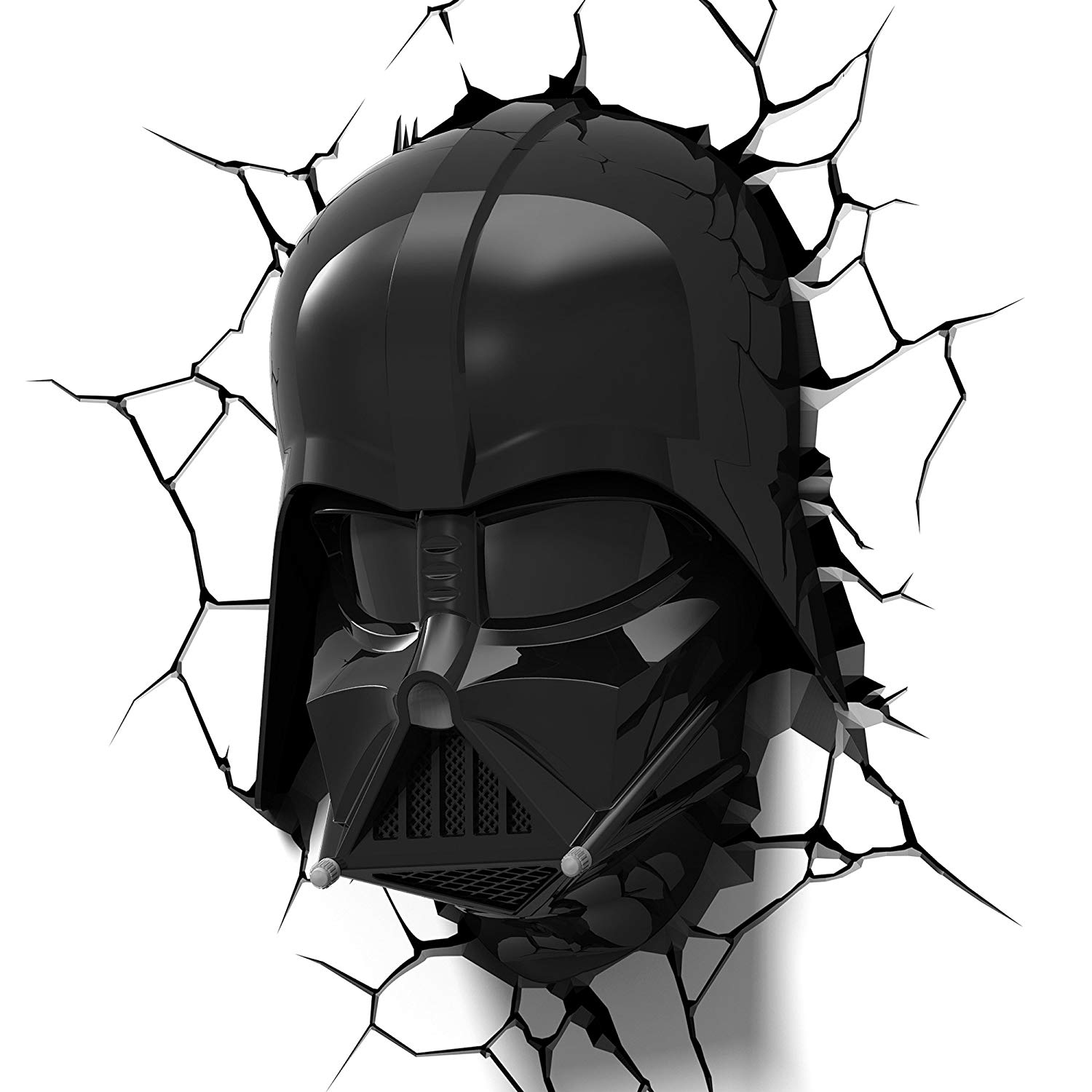 3dlightfx Star Wars Darth Vader Helmet 3d Deco Light Officially Licensed By 3d Light Fx By 3d Light Fx Walmart Com Walmart Com