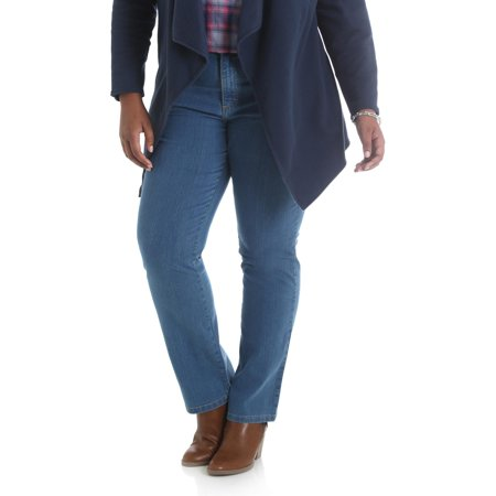 Lee Riders Women's Plus Simply Comfort Straight Leg Jean