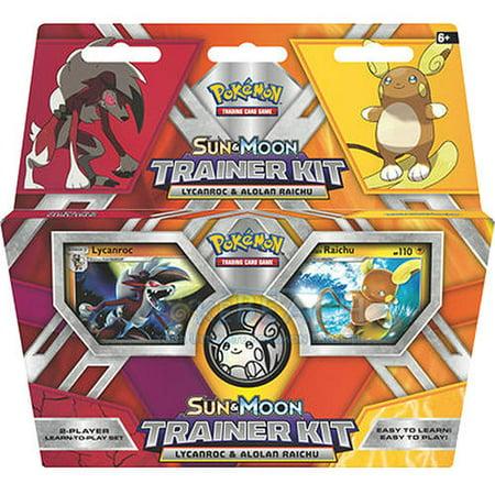 POKEMON SUN MOON LYCANROC & ALOLAN RAICHU TRAINER](Make Your Own Pokemon Trainer)