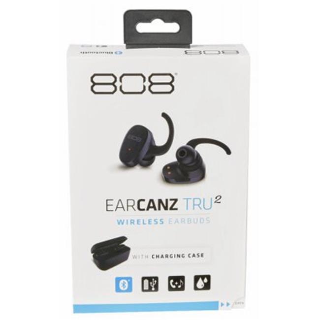 Audiovox 244484 Earcanz 808 TRU2 Wireless Earbuds by Audiovox