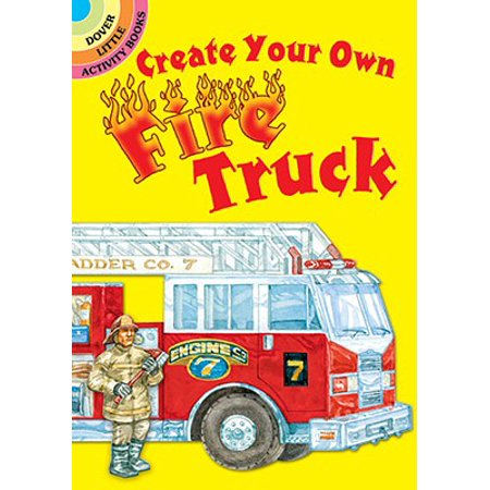 Create Your Own Fire Truck - Create Your Own Trophy