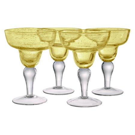 Artland Inc. Iris Citrine Margarita Glasses - Set of 4