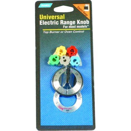 Camco 00913 Electric Range Burner Knob Kit, Black Oxide (Cadco Countertop Range)
