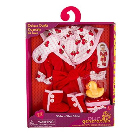 Our Generation Robe a Dub Dub Deluxe Outfit - Compatible with 18A Dolls - image 1 de 2