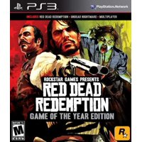 Red Dead Redemption Game of the Year Edition, Rockstar Games, PlayStation 3, 710425470066