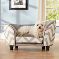 Enchanted Home Pet Snuggle Bed - Gray Chevron