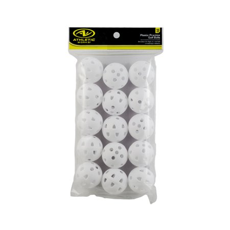 Athletic Works Golf Balls, 15 Pack