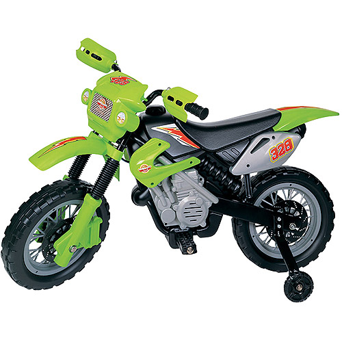 Pavlov'z Toyz My First Motocross Racer 6-Volt Battery-Powered Ride-On