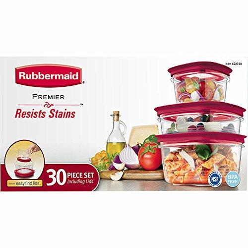 Rubbermaid Premier food storage with Tritan plastic and E...