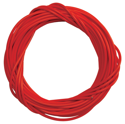CABLE HOUSING SunLite w/LINER 5mmx50ft RED