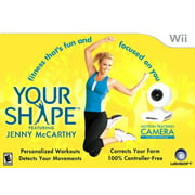 Your Shape Featuring Jenny McCarthy - WII Bundle includes Motion Tracking Camera - Fitness that's Fun and Focused on You