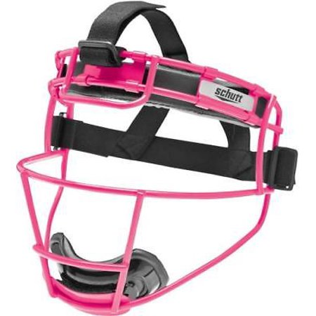 Schutt 122150CC Softball Fielder's Protective Face Mask, YOUTH, Neon Pink (Schutt Youth Polyester)