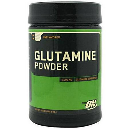 Optimum Nutrition Glutamine Powder, 200 Servings (Vital Nutrients Glutamine Powder)