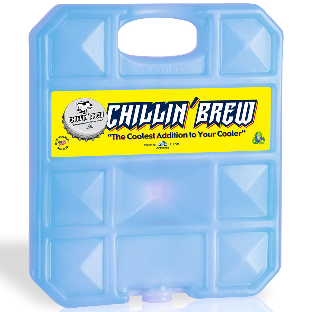 Arctic Ice 1.5 lb Chillin Brew Reusable Cooler