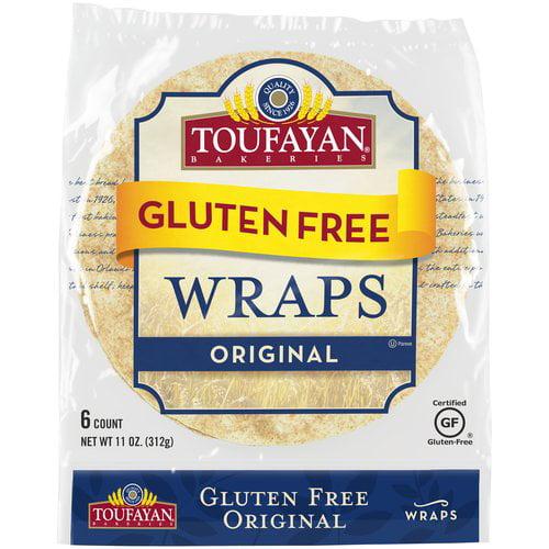 Toufayan Original White Gluten Free Wraps, 11 oz