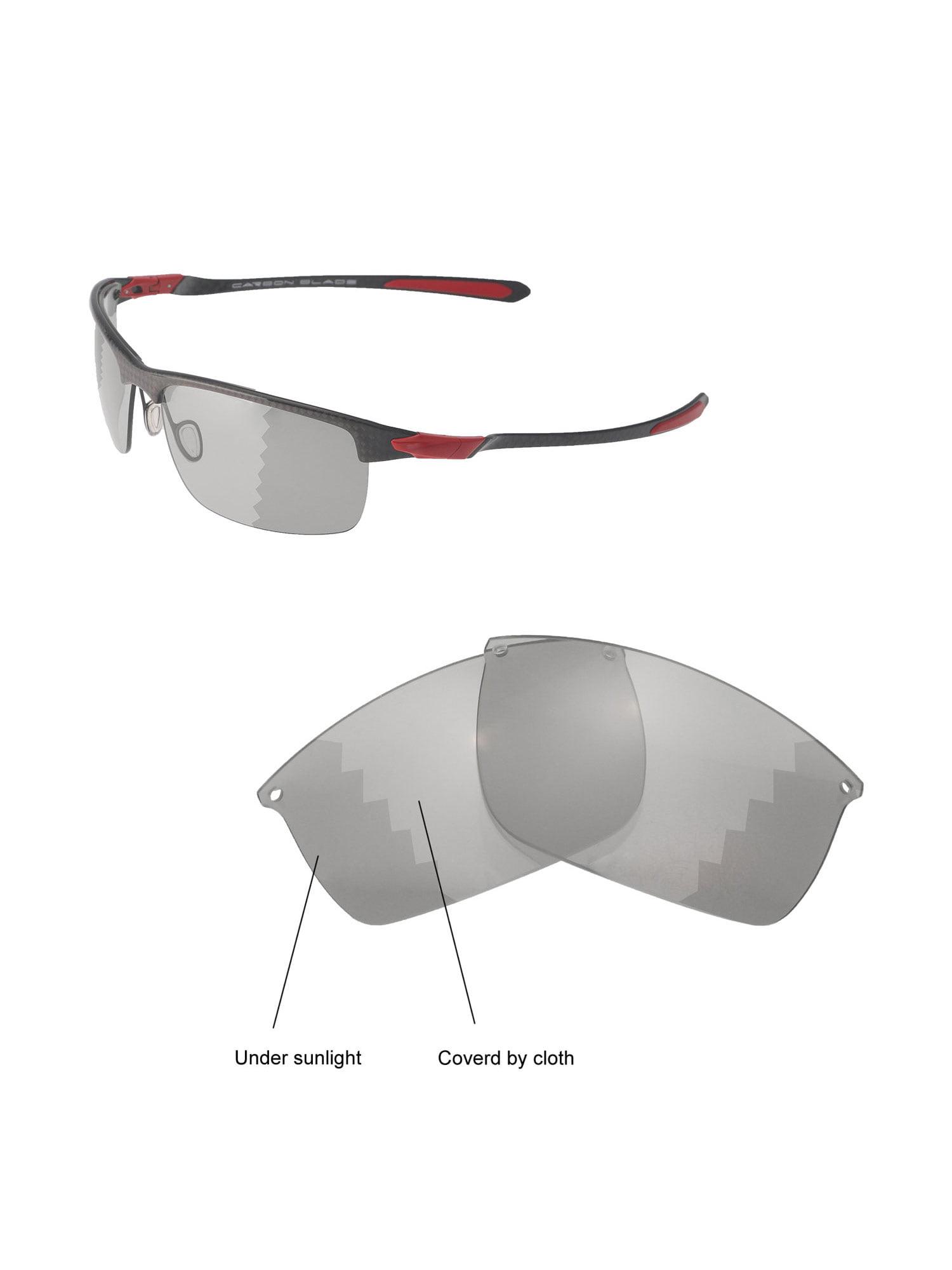 30f29e7955bce Walleva Black Polarized Replacement Lenses for Oakley Carbon Blade  Sunglasses - Walmart.com
