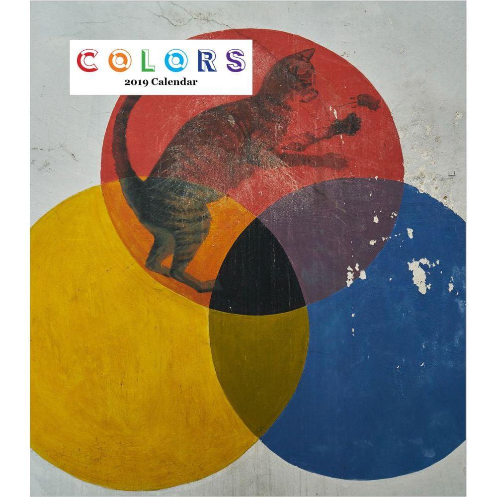 2019 Colors 2019 Desk Calendar, Contemporary Art by Restrospect Group by Restrospect Group