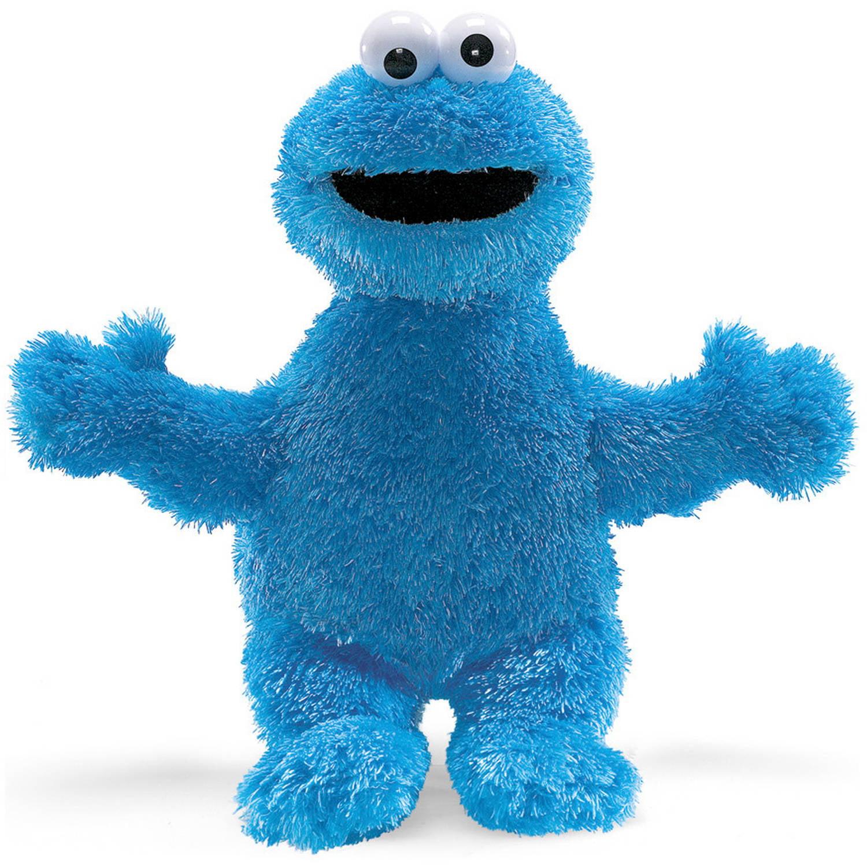 """GUND Sesame Street 12"""" Plush Cookie Monster by Gund"""
