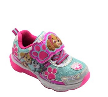 Paw Patrol Toddler Girls' Lighted Athletic Sneaker