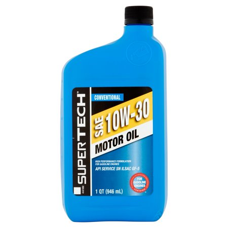 Supertech Conventional Sae 10w 30 Motor Oil 1 Qt Best