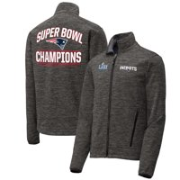 New England Patriots NFL Pro Line by Fanatics Branded Super Bowl LIII Champions Halftime Show Soft Shell Full-Zip Jacket - Black