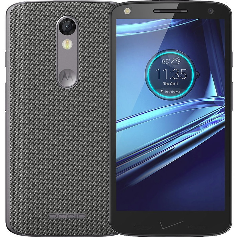 Motorola Droid Turbo 2 XT1585 Gray Nylon 32gb - Fully Unlocked (Certified Refurbished)