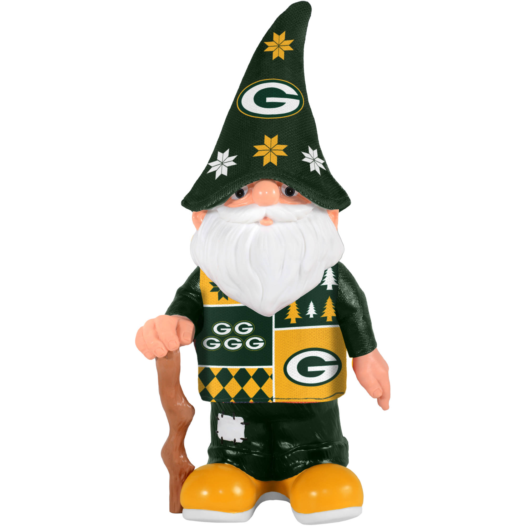 Forever Collectibles Nfl Real Ugly Sweater Gnome Green Bay Packers