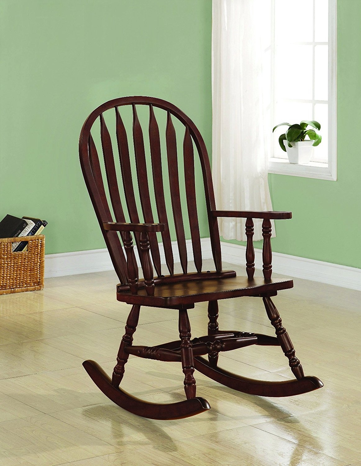 Click here to buy Coaster Home Furnishings Traditional Rocking Chair, Cappuccino by Coaster Home Furnishings.