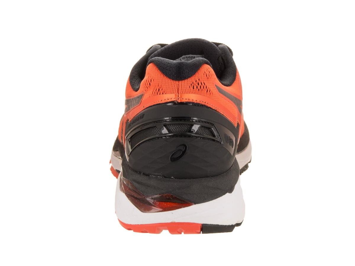 bfd6a58c1616 ASICS - ASICS Men s Gel-Kayano 23 Running Shoe (Flame Orange Black Safety  Yellow