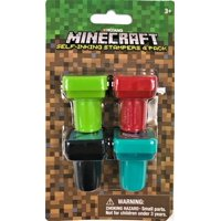 Minecraft Characters Multicolor Party Favors, 4 Pieces