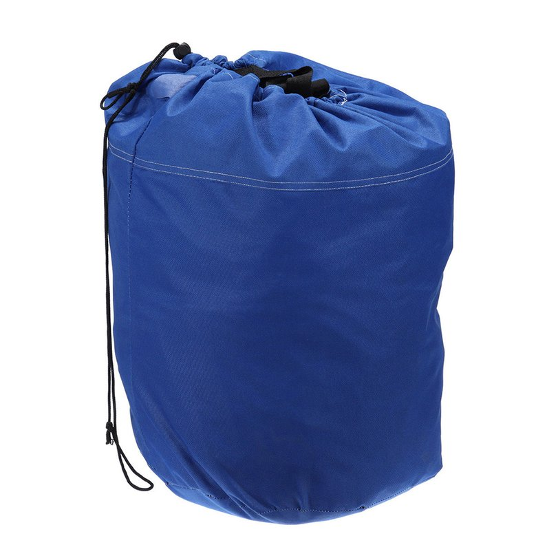 Hot Sale 17' 18' 19' Trailerable Fish Ski Boat Cover 600D V-Hull Weather Boat Bag Blue(Blue) by