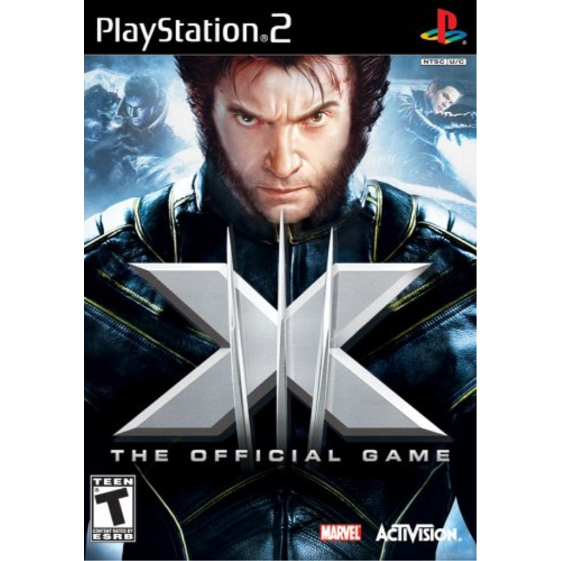 X-Men: The Official Game PlayStation 2 by