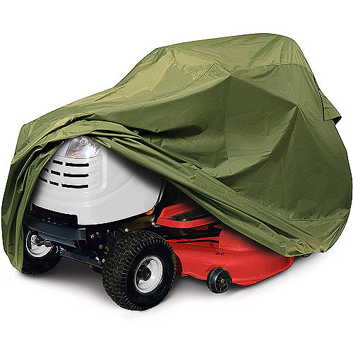 Classic Accessories Olive Tractor Cover, fits lawn tractors with a deck up to 54""