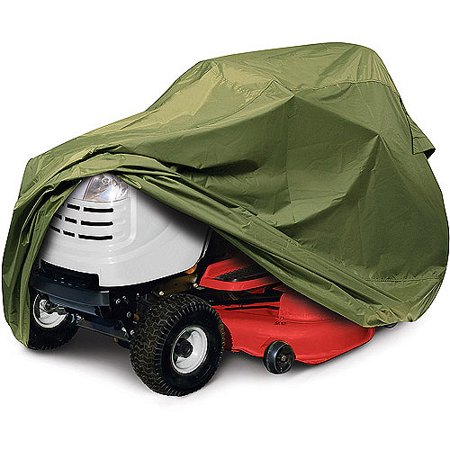 Classic Accessories Olive Tractor Storage Cover  Fits Lawn Mowers With A Deck Up To 54