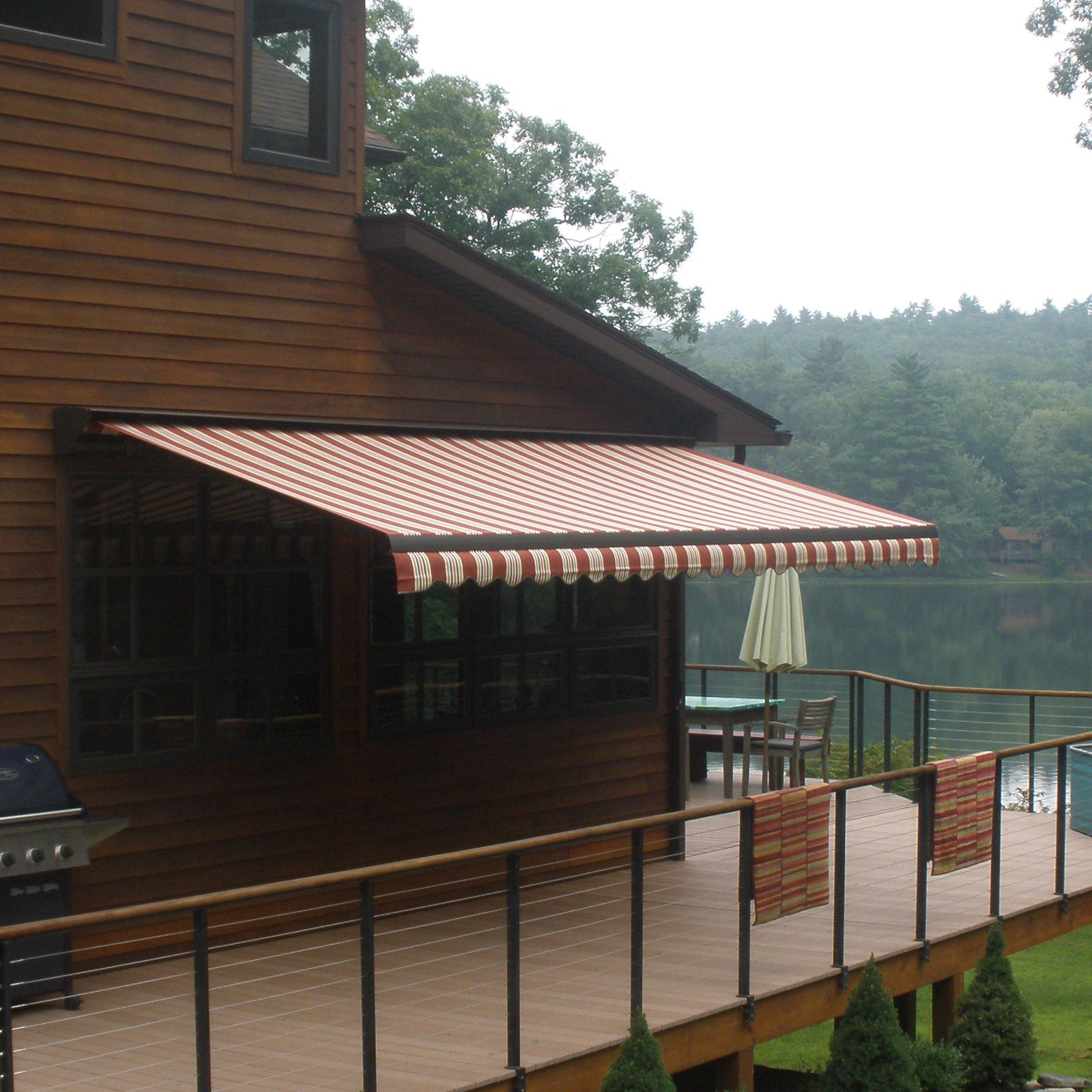 SunStopper Sun Haven 18 X 8 Ft. Motorized Retractable Awning