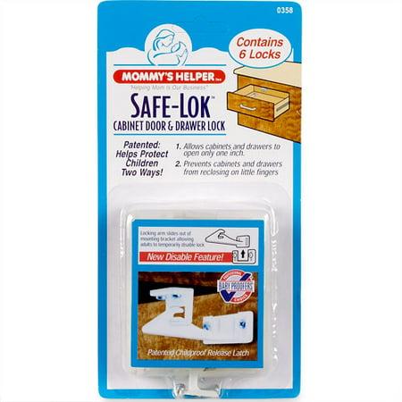 (2 Pack) Mommy's Helper - Cabinet Safe-Lok ()