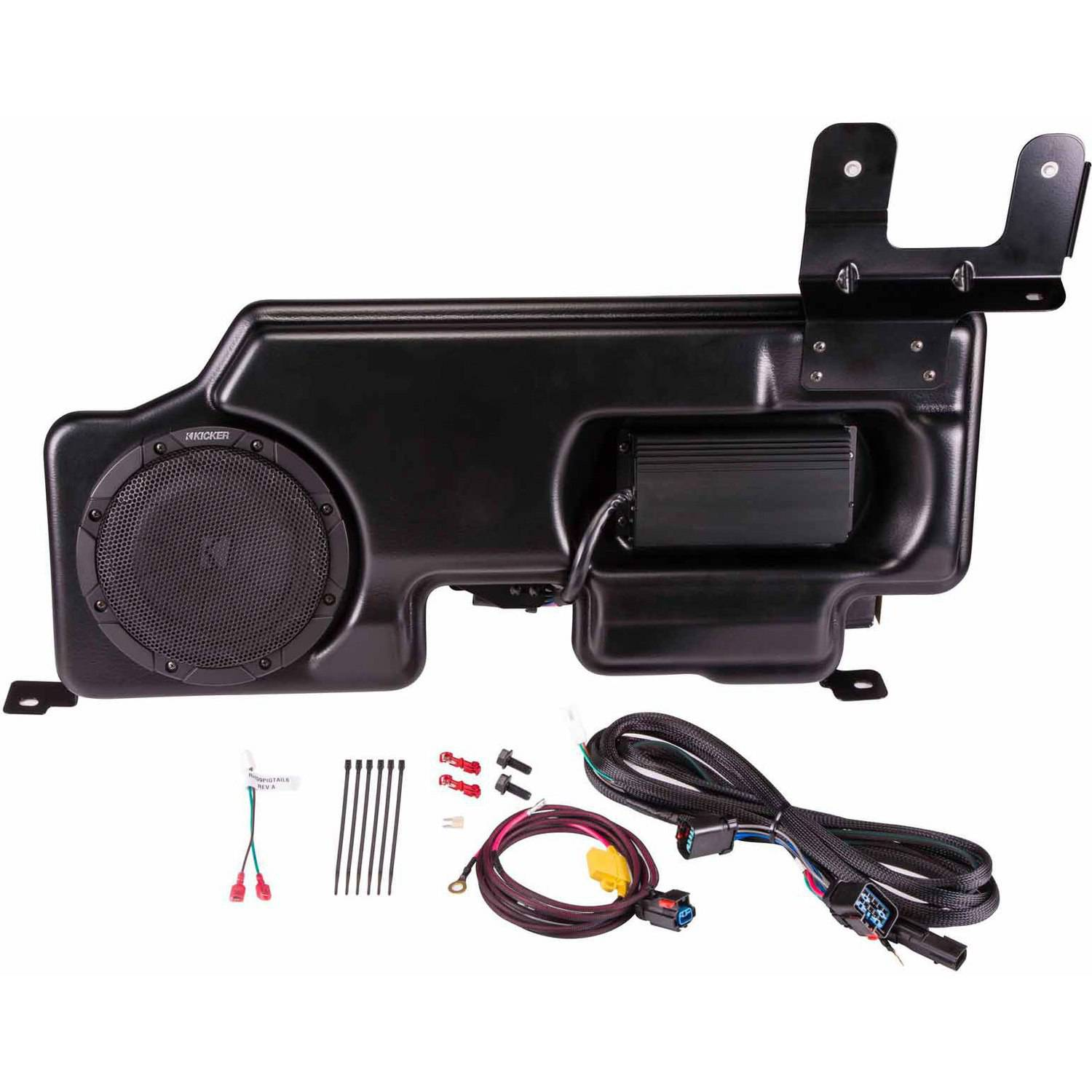 KICKER SubStage Powered Subwoofer Upgrade Kit for 2015 Ford F-150 Cab and Super Crew