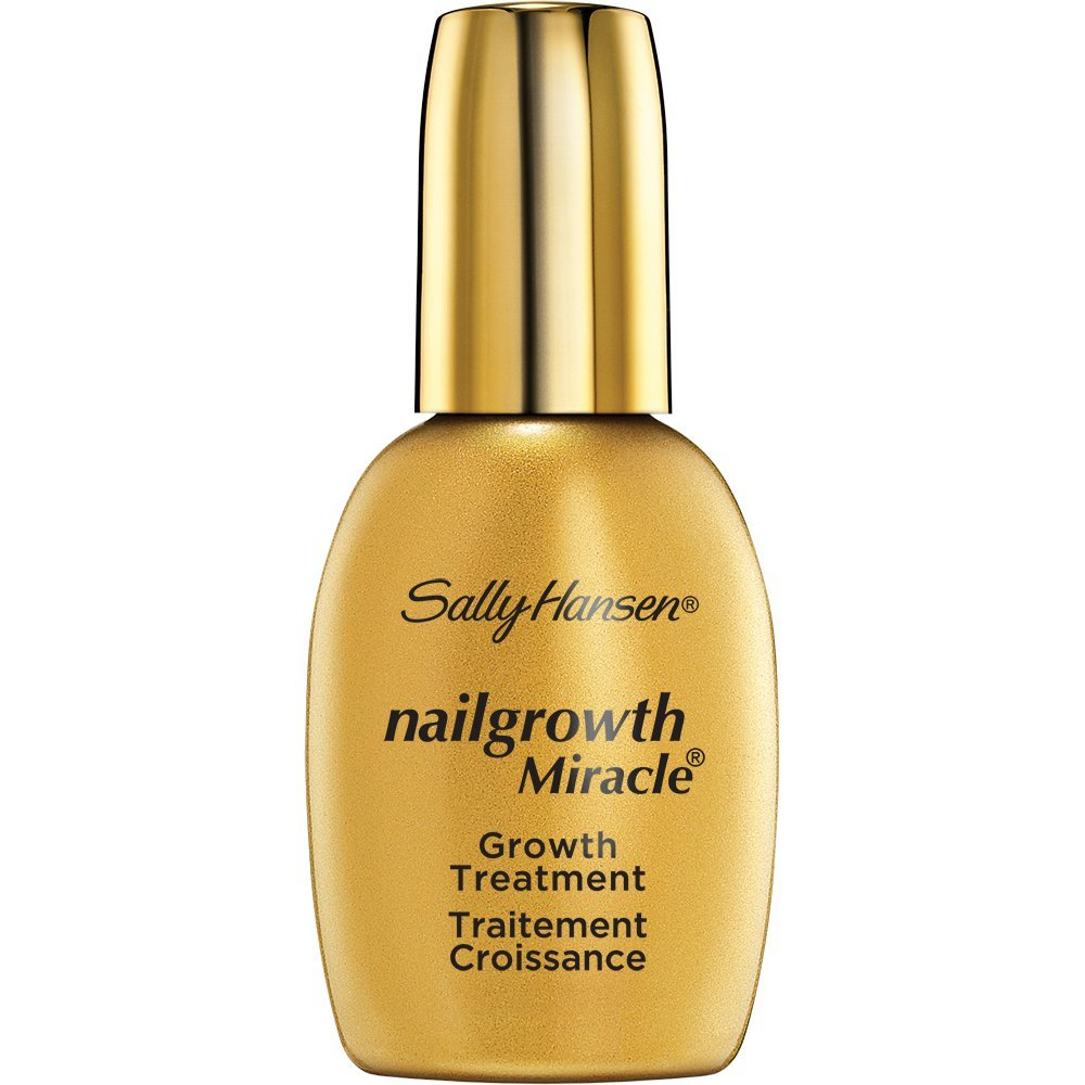 Nailgrowth Miracle, Serum 0.45 oz Clear, 30% longer nails in 5 days guaranteed exclusive formula supports fast natural nail growth By Sally Hansen