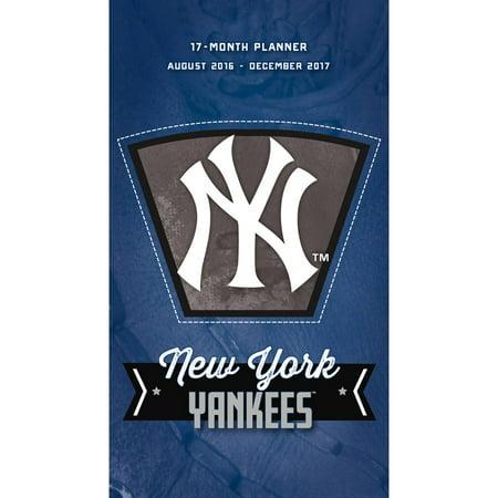 New York Yankees Monthly Pocket Planner