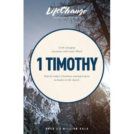 1 Timothy This LifeChange Bible study focuses on the Epistle of I Timothy. Paul gave Timothy a set of guidelines for choosing leadership within the congregation to help him in his ministry. These guidelines provide today's church with the most thorough instructions for choosing and becoming strong, godly leaders.