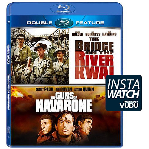 Bridge on the River Kwai/The Guns of Navarone (Blu-ray Action Double Feature) 42671