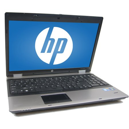 "Refurbished HP 15.6"" 6550B Laptop PC with Intel Core i5-520M Processor, 4GB Memory. 250GB Hard Drive and Windows 10 Pro"