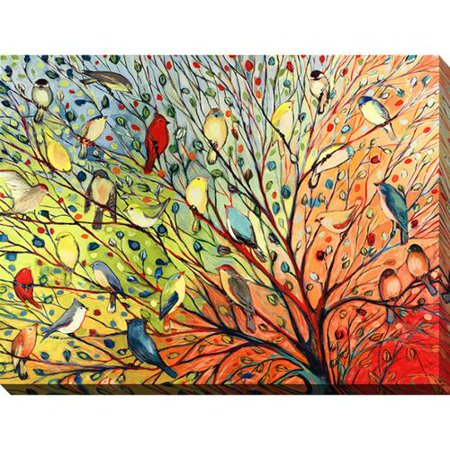 Picture Perfect International Jennifer Lommers \'27 Birds\' Giclee ...