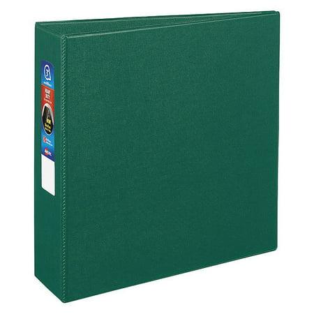 AVERY Heavy Duty Binder,3 in.,Standard,Green AVE79783 Avery Heavy Duty Vinyl