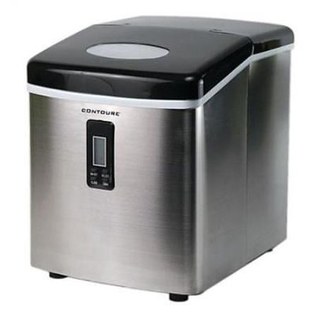Ice Maker Stainless Steel Toe - Contoure RV-150SS Portable Ice Maker - Stainless Steel